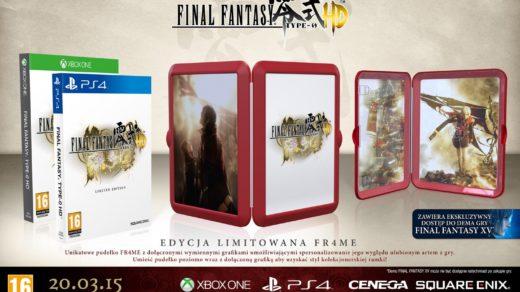 Final Fantasy Type-0 HD Edycja Limitowana FR4ME