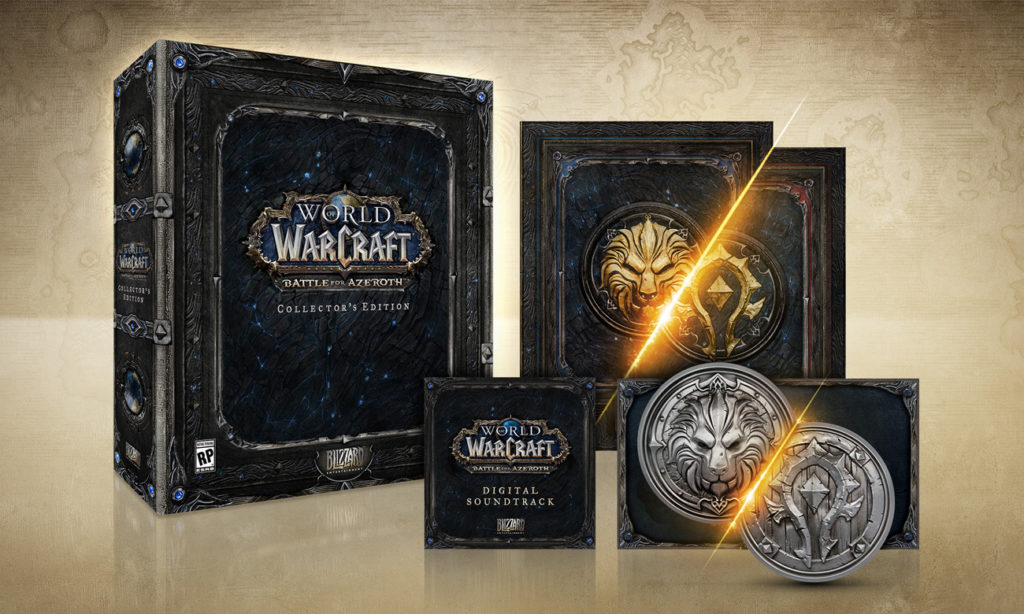 Edycja kolekcjonerska World of Warcraft Battle for Azeroth