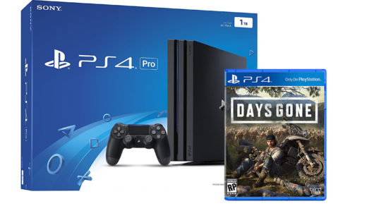 PlayStation 4 Pro + days gone