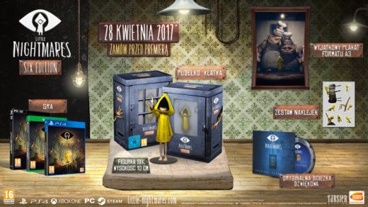 Edycja kolekcjonerska Little Nightmares Six Edition