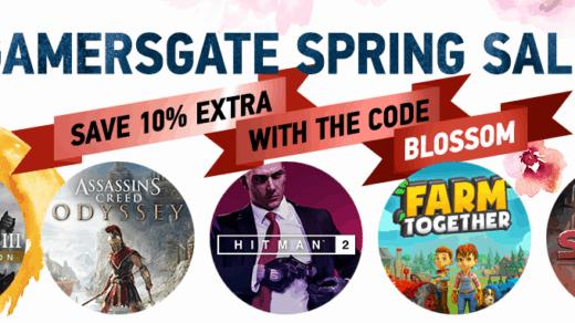 Gamersgate wyprzedaż wiosenna 2019