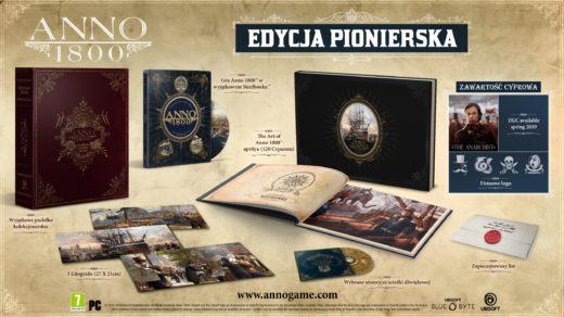 anno 1800 edycja pionierska