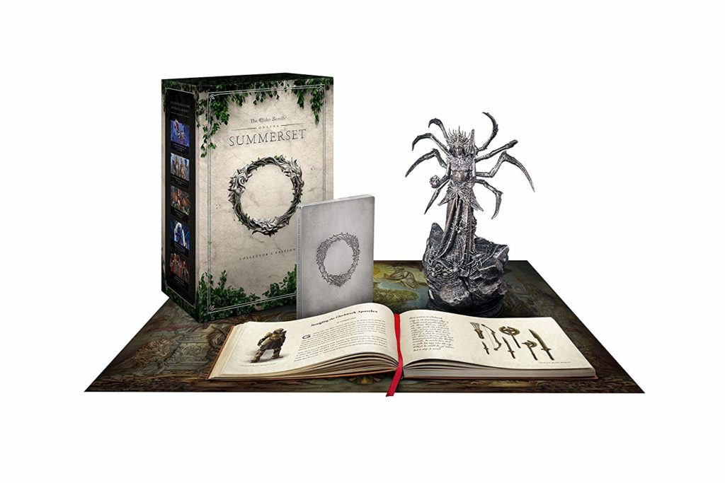 the elder scrolls summerset collectors edition