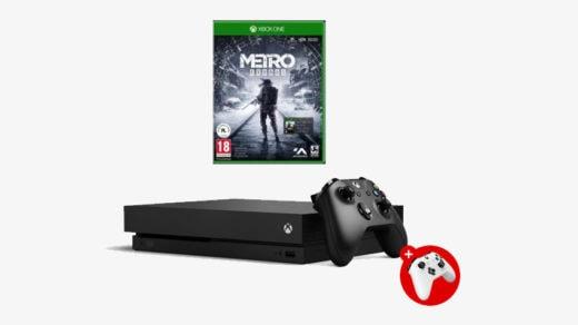 Zestaw Xbox One X + Metro Exodus + Dodatkowy pad