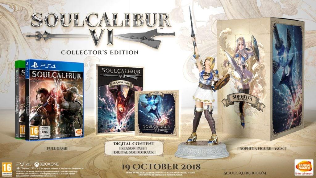 soul calibur VI collectors edition